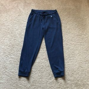 Champion navy jogger workout pants L
